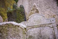 Prague Jwish cementary, Josefov Stock Photo