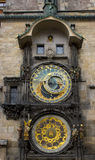 Prague klocka Arkivfoto