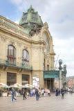 Prague Kommunalt hus Royaltyfria Bilder