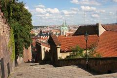 Prague landmark royaltyfri fotografi