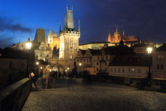 Prague landmarks Royalty Free Stock Photos
