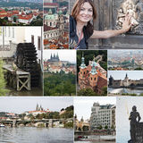 Prague landmarks Royalty Free Stock Images