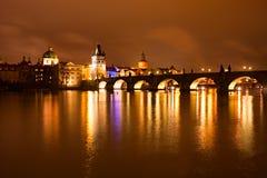 Prague landmarks, Czech republic Stock Images