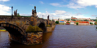 Prague landmarks Royalty Free Stock Image