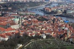 Prague landscape Royalty Free Stock Images