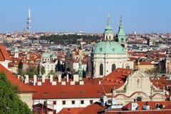 Prague, le capital de la République Tchèque Image libre de droits