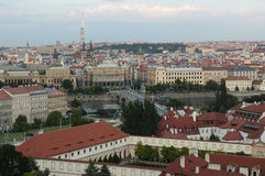 Prague le capital de la République Tchèque Photos stock