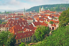Prague Lesser Side Royaltyfri Foto