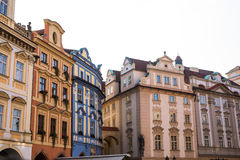 Prague like a point of turistic destinations Royalty Free Stock Photography