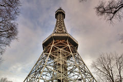 Prague Lookout Tower Stock Images