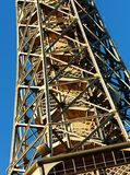 Prague lookout tower Royalty Free Stock Image