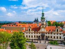 Prague Loreto Church Stock Photos