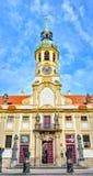 Prague Loreto est un monument historique baroque remarquable, un endroit de pèlerinage avec l'histoire captivante image libre de droits