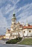 Prague Loreto. View from Loreto Square Stock Photos