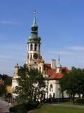 Prague - Lorettoen (Loreta) Arkivbild