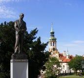 Prague - Lorettoen (Loreta) Arkivfoton