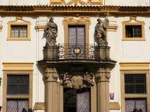 Prague - Lorettoen Loreta Royaltyfri Fotografi