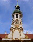 Prague - Lorettoen Loreta Arkivfoto