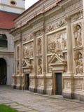 Prague - Lorettoen Loreta Arkivfoton