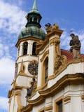 Prague - Lorettoen Loreta Royaltyfria Foton