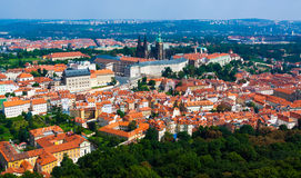 Prague. The magnificent old town on the Vltava river Stock Photos