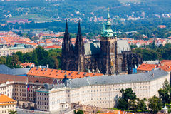 Prague. The magnificent old town on the Vltava river Royalty Free Stock Photos
