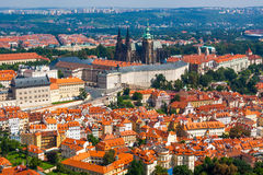 Prague. The magnificent old town on the Vltava river Stock Photography