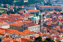Prague. The magnificent old town on the Vltava river Royalty Free Stock Images