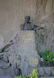 PRAGUE - MAJ 19: Sista vila ställe av Antonin Dvorak Arkivbilder