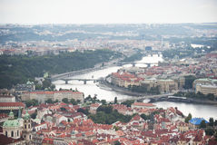 Prague, Mala Strana neighborhood Stock Photography