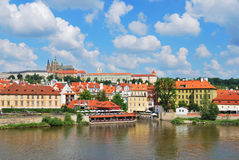 Prague. Mala Strana and Prague Castle Royalty Free Stock Photo