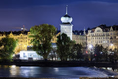 Prague Manes Tower Royalty Free Stock Photography