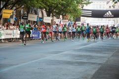 Prague Marathon Royalty Free Stock Photo