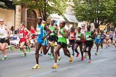 Prague Marathon Royalty Free Stock Image