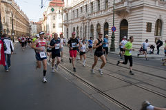 Prague marathon Royalty Free Stock Photo