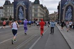 Prague marathon Stock Photography
