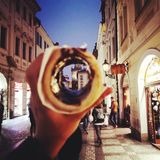 Prague matchoko arkivbilder