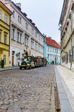 Prague, medieval street, Czech Republic Stock Photography