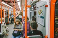Prague metro. Czech Republic Stock Photos