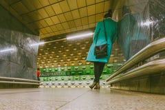 Prague metro. Czech Republic Stock Photography