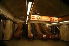Prague metro system Stock Photos