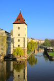 Prague Moldau Stock Photography