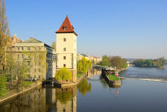 Prague Moldau Royalty Free Stock Images