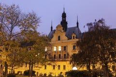 Prague Municipal Court Stock Photography