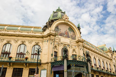 Prague Municipal House Royalty Free Stock Photography