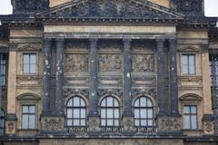 Prague National Museum Royalty Free Stock Photo