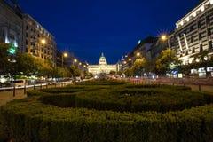 Free Prague National Museum Wenceslas Square Royalty Free Stock Photography - 161314557