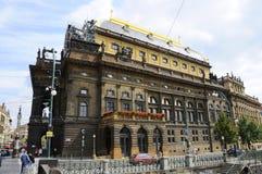 Prague National Opera Theater Royalty Free Stock Photos