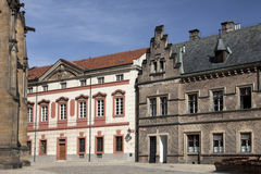 Prague - New Provost Residence in Prague Castle Royalty Free Stock Image