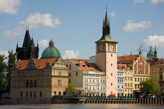 Prague New Town scenery Royalty Free Stock Images